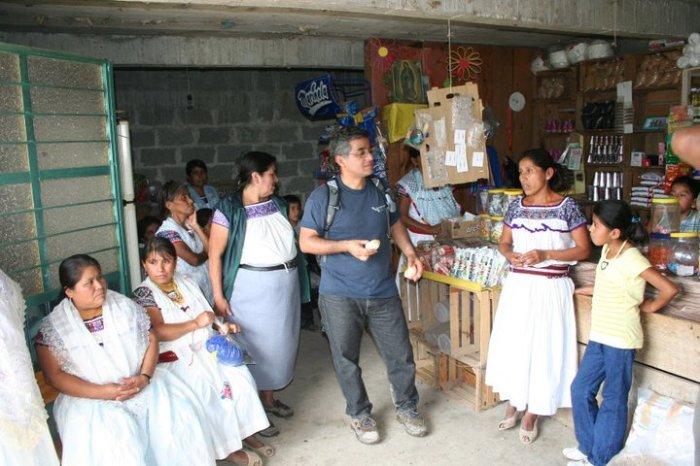 Frauenprojekt bei Tosepan