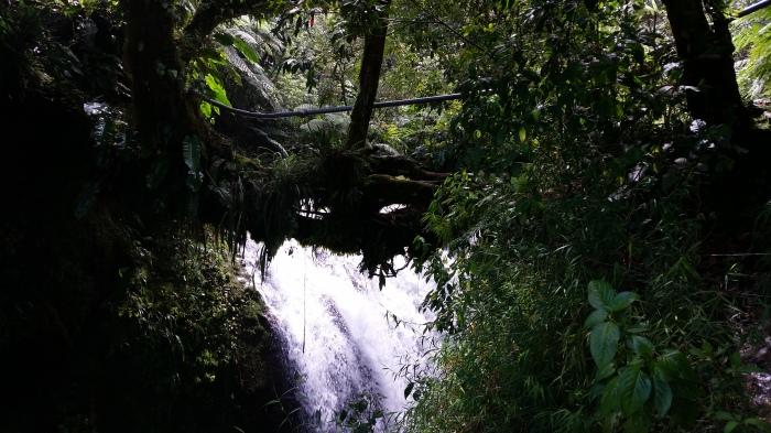 Wasserfall in Cuetzalan
